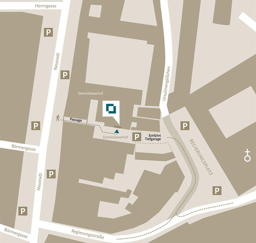 Lageplan Landshut